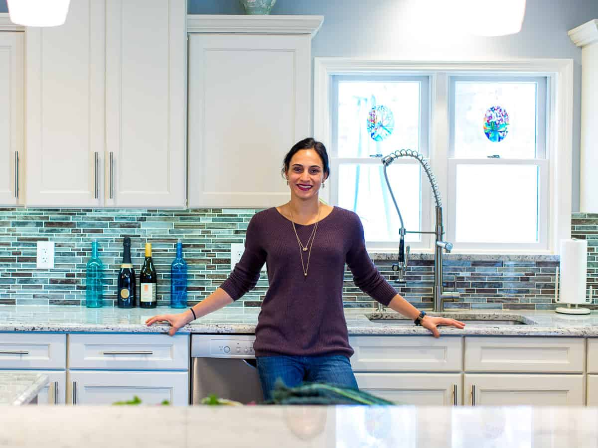 Gina Matsoukas, the food blogger of Running to the Kitchen