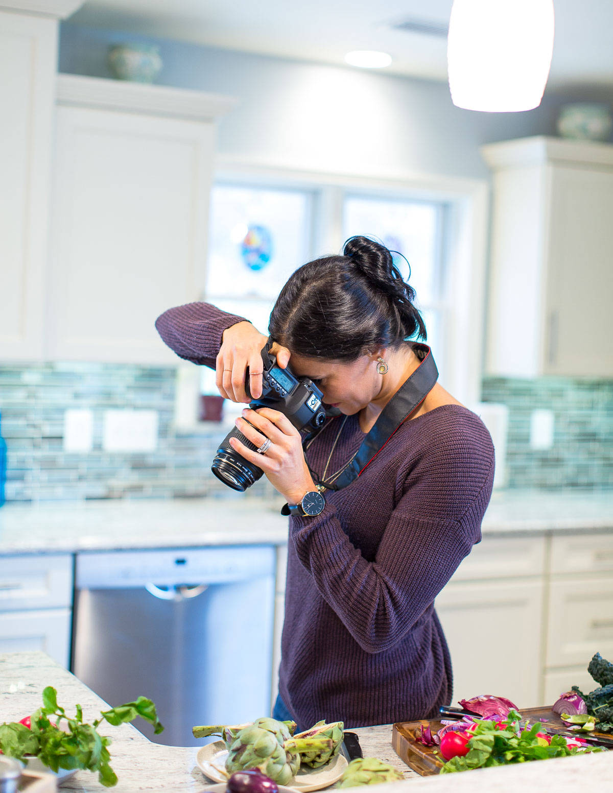 Learn about the food blog and healthy recipe site, Running to the Kitchen