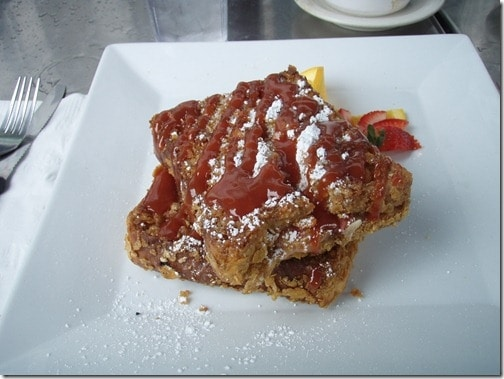 La Isla stuffed french toast