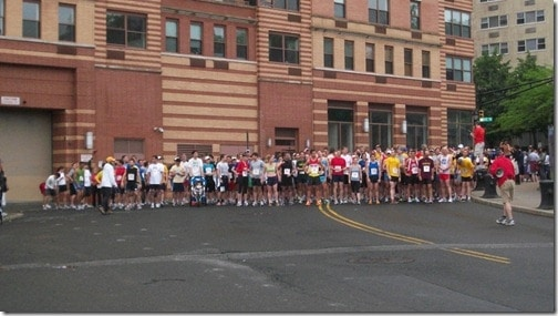 HOHA 5 mile race start