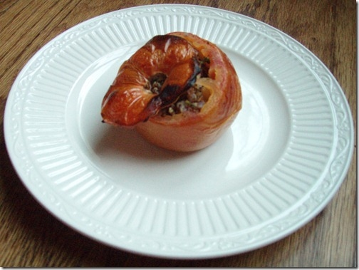 summer herbed stuffed tomatoes