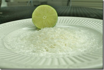 parmesan and lime