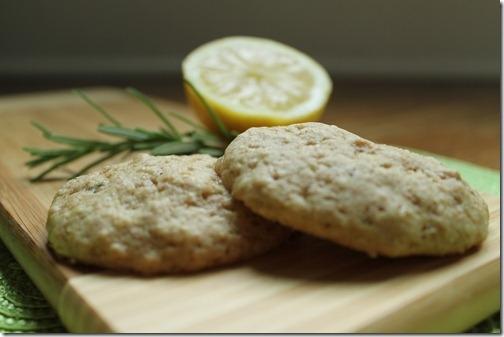 Lemon Rosemary Olive Oil Cookies