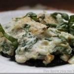 Spinach and Cheese Stuffed Portobello Mushrooms