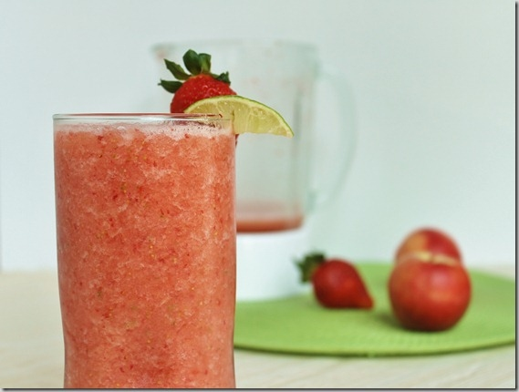 Strawberry Lime Smoothie