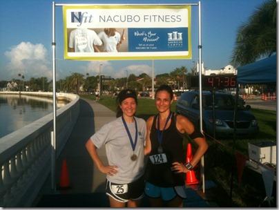 NACUBO 5k Race Winners Female