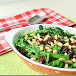 Sweet and Spicy Broccoli Rabe