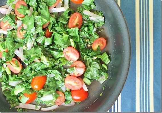 Collard Green Frittata
