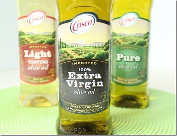 Crisco extra virgin olive oil