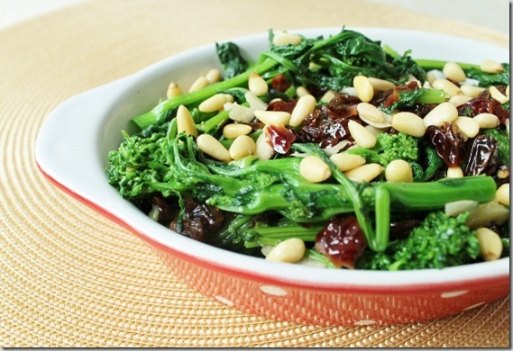 Easy Sweet and Spicy Broccoli Rabe