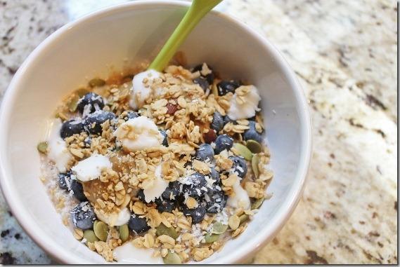 Coconut oats