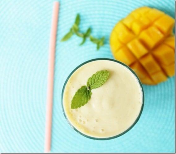 Simple Mango Lassi
