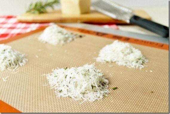 2 Ingredient Parmesan Crisps