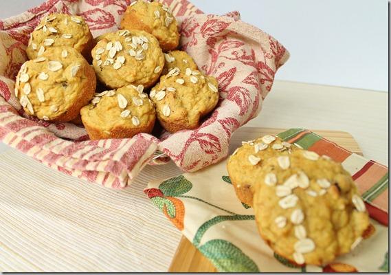 Carrot Cake Pineapple Muffins