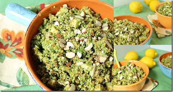 Broccoli Apple Raisin Salad