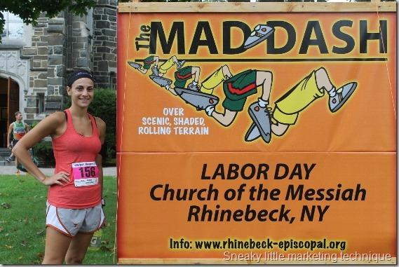 Rhinebeck Mad Sash 10K Race Recap