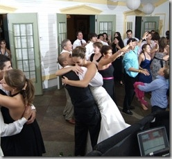 Wedding reception picture
