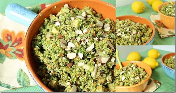 Broccoli Apple Raisin Salad