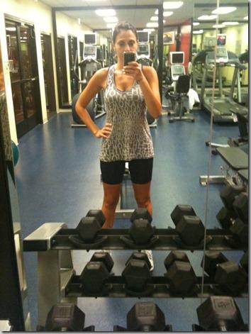 hotel treadmill run