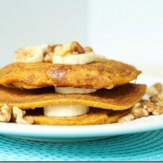 Oatmeal Pumpkin Pancakes
