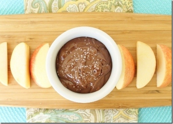 Chocolate Sunflower Seed Butter Dip