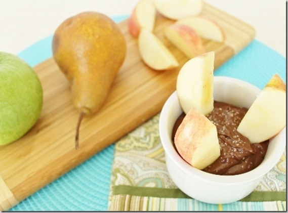 Salted Chocolate Sunflower Butter Dip