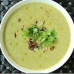 Broccoli Soup with Crispy Shallots