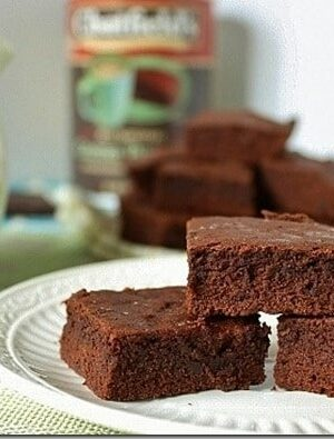 Classic Fudgy Salted Brownies