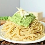 Citrus Pea Pesto