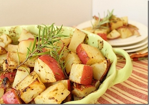 Rosemary Dijon Potatoes
