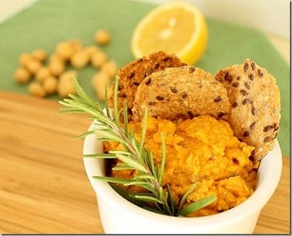 Rosemary Pumpkin Hummus