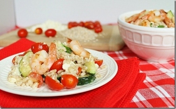 Shrimp Barley Salad