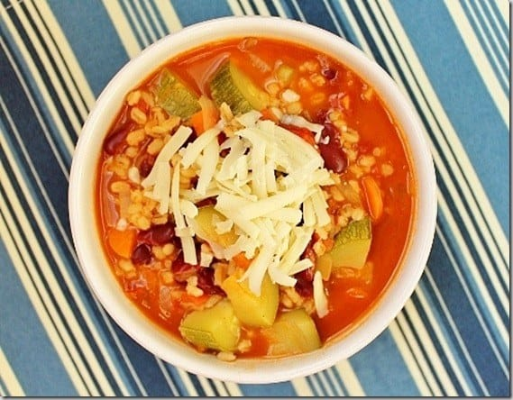 Vegetable Barley Chili