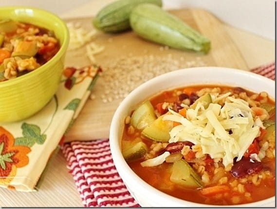 Vegetable Chili with Barley