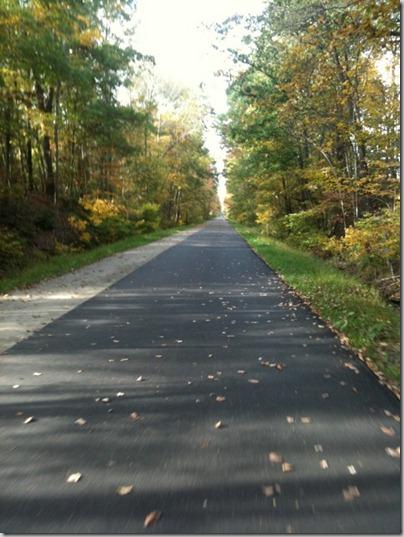 20 mile bike ride on bike trail