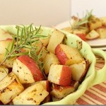 Rosemary Dijon Roasted Potatoes