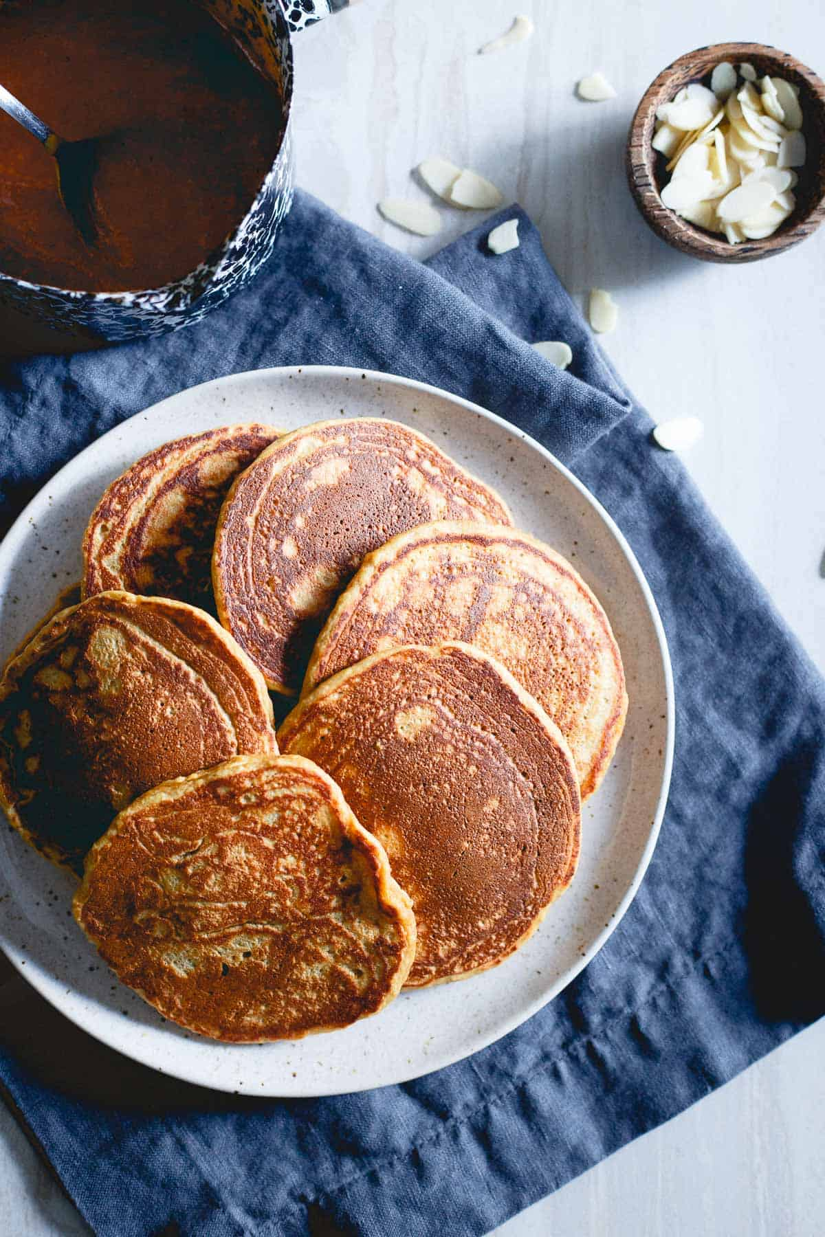 Adding persimmon puree to pancakes is the perfect winter twist for a cozy breakfast.