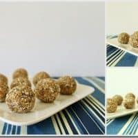 Oat Almond Date Energy Bites