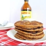 Gingerbread Pumpkin Pancakes