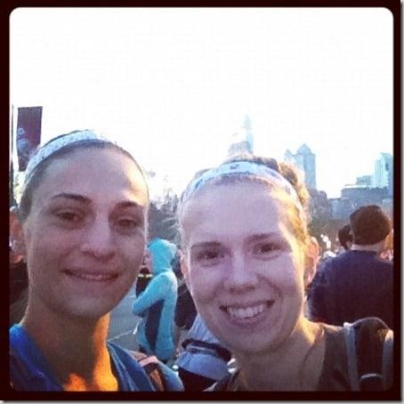Philadelphia half marathon start