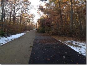 bike trail run