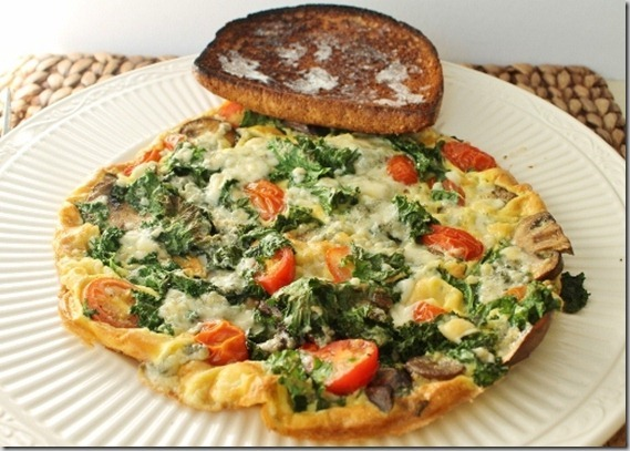 frittata lunch