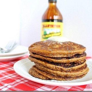 Gingerbread Pumpkin Pancakes