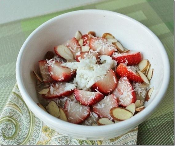 strawberry oats