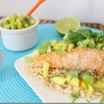 Coconut Cashew Crusted Salmon