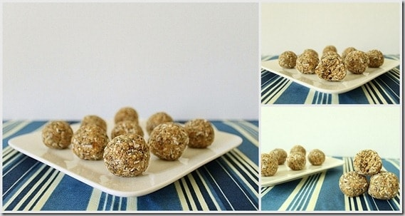Oat Almond and Date Energy Bites