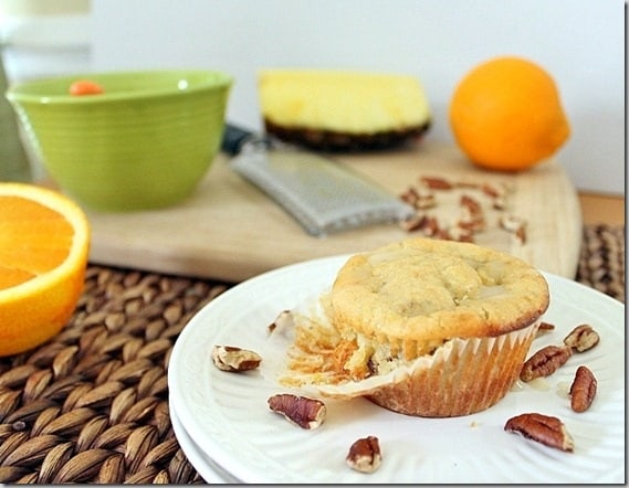 Pineapple Muffins
