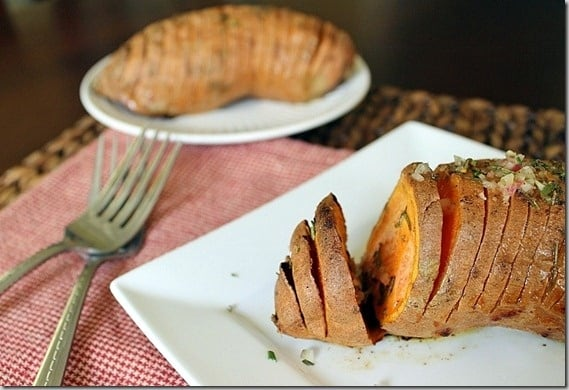 Rosemary Hasselback Potatoes