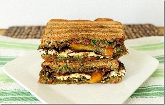 Tofu Bacon Panini