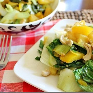 Pineapple Cashew Bok Choy